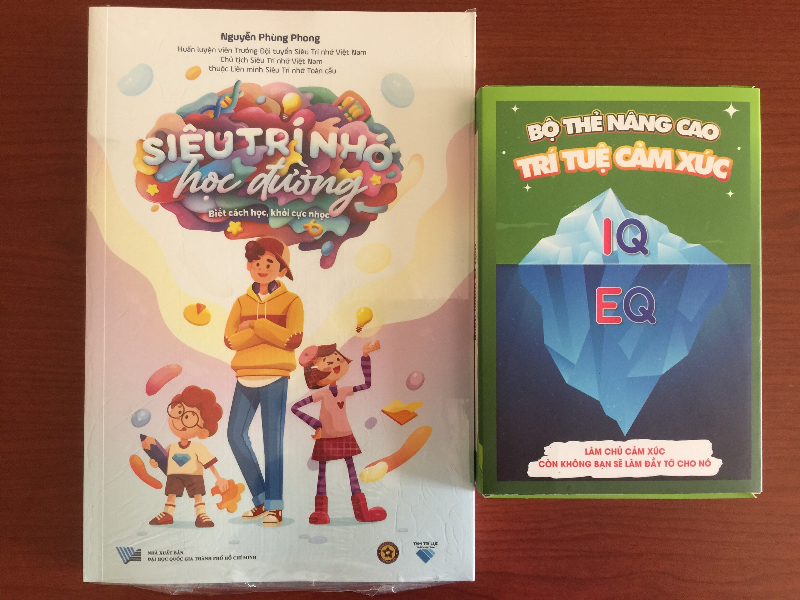 Mua Bộ thẻ nâng cao EQ tặng sách Siêu Trí Nhớ Học Đường