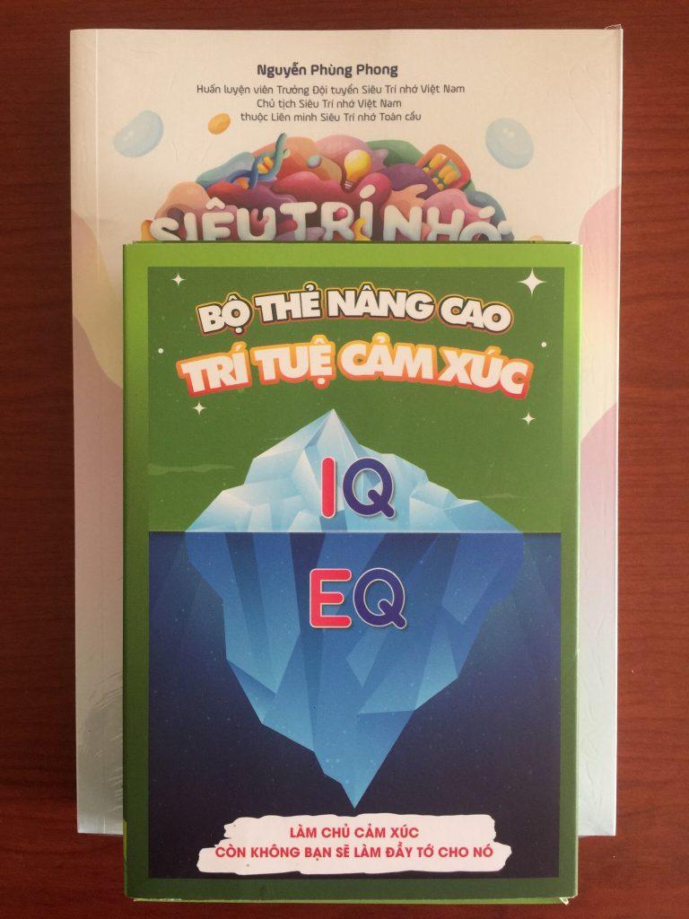 Bộ thẻ nâng cao EQ - sách siêu trí nhớ học đường